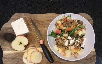 Salade de pomme et feta